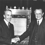 Portrait of Archibald MacLeish and the Marquess of Lothian, November 28, 1939