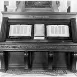 Photograph of the Gutenburg Bible, Library of Congress, November 1944