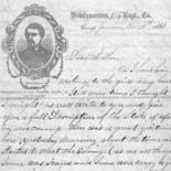 Letter from Tilton C. Reynolds to Juliana Smith Reynolds, November 13, 1861