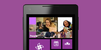 Test drive Windows Phone, the new phone reinvented around you.