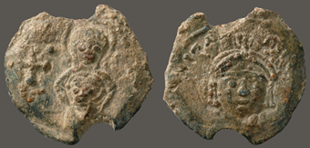 Imperial Seal: Tiberios II Constantine, issued 578–82 (BZS.1958.106.512)