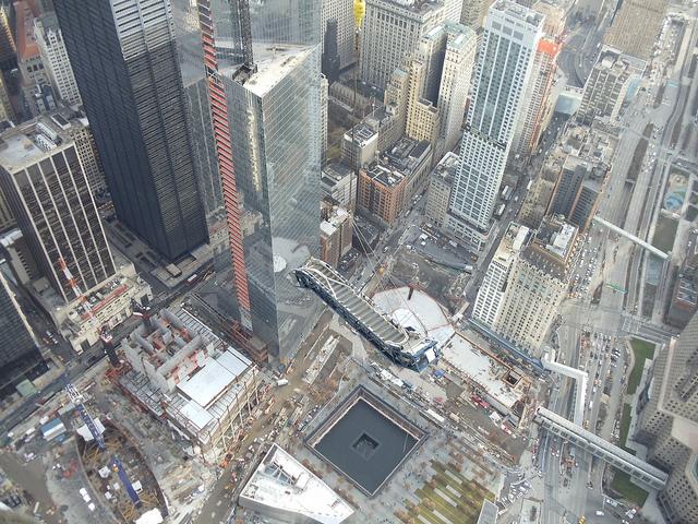 ThyssenKrupp Elevator - One World Trade Center Escalator Hoisting
