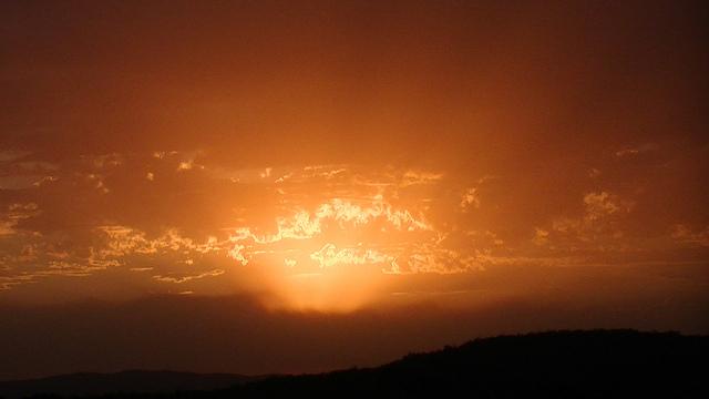 Tallong Hillside Sunset