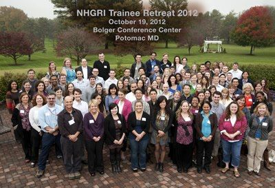 Photo: Early career scientists in the National Human Genome Research Institute intramural training program (NHGRI) say that their biggest concern is a challenging job market and what lies ahead for them after their time at NHGRI. Read more at http://qoo.ly/5m9r