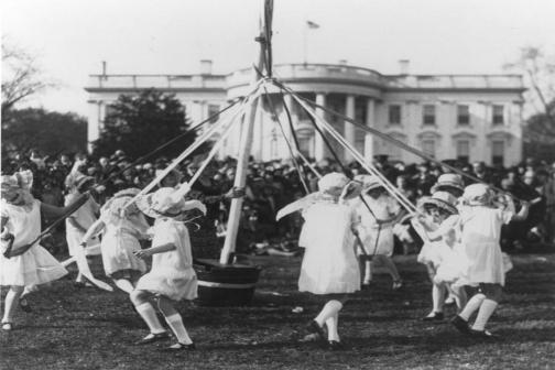Easter Egg Roll 1920s