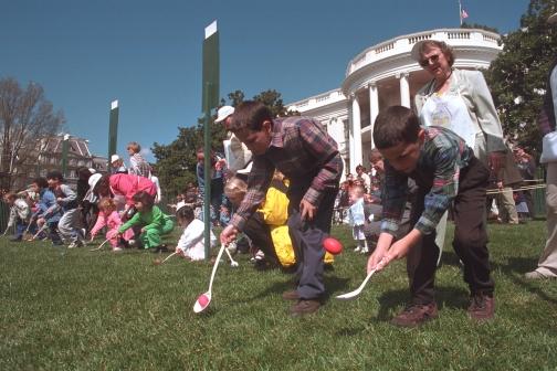 Easter Egg Roll 2002
