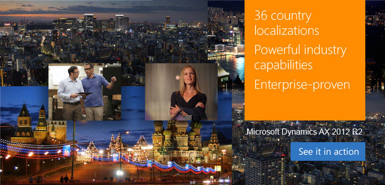 36 localizations, Powerful industry capabilities, Enterprise-proven