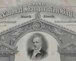 Grand national Inauguration Ball, March Fourth, 1857