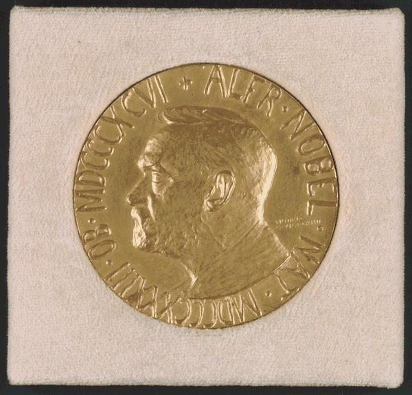 Woodrown Wilson's Nobel Peace Prize for 1919