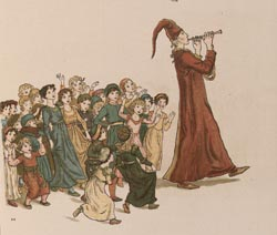 The Pied Piper of Hamlin