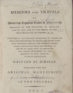 Memoirs and Travels of Mauritius Augustus, Count de Benyowsky ...