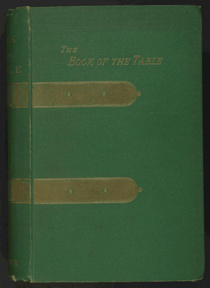 Kettner's book of the table