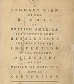Summary View Rights of British America
