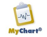 MyChart button
