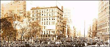 Suffrage Parade, New York City, ca. 1912