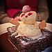 Ice-cream snowman