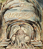 Title page: Illustration from William Blake's the Book of Urizen.