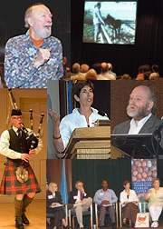 collage of symposia photos