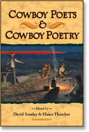 Image: Book Cover of Cowboy Poetry
