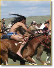 Image: American Indians on horseback