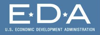 Economic Development Administration header image