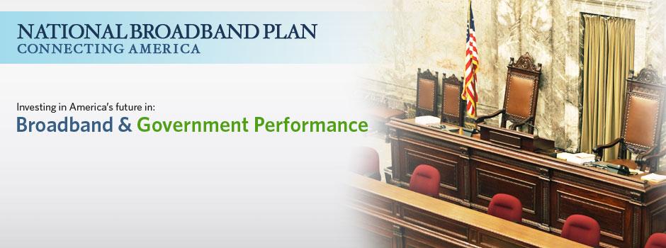 Broadband & Government Performance