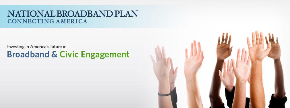 Broadband & Civic Engagement