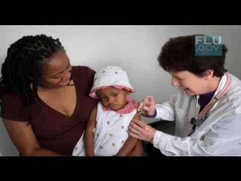 Dr. Bruce Gellin, Director, National Vaccine Program Office, U.S. Department of Health and Human Services talks about how to protect children from the flu and what to do if your child gets sick with the flu.