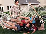 'Hovering' Moms May Take Fun Out of Play