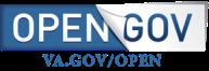 VA Open government Button