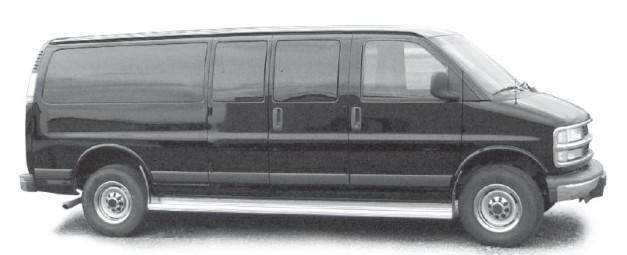 Image of 15-passenger van