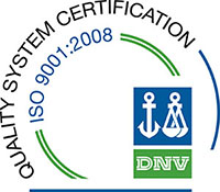 QSC ISO 900-2008 Certification DNV Logo