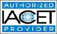Authorized IACET Provider logo