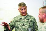 SMA speaks to Soldiers in Force Management Course