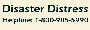 Disaster Distress helpline
