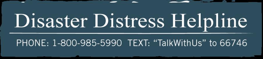 Disaster Distress