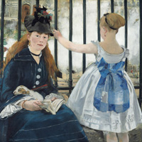 mage: Listen: Introduction to a Painting-Edouard Manet's The Railway