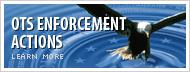 OTS Enforcement Actions