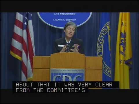 H1N1 Flu Press Conference (CDC): Vaccines