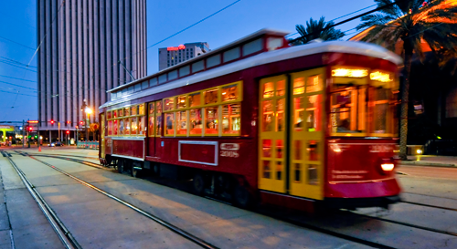 """""""The new streetcar line is a big win for New Orleans, bringing new jobs and housing choices into the South Market District."""" -P. Rogoff"""