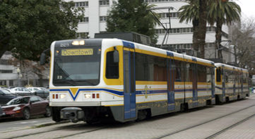 """DOT Announces $135 Million to Extend Light Rail in South Sacramento """"California's capital region needs robust transportation choices to ensure current and future generations have access to jobs and more."""" – Peter Rogoff"""
