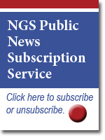 Subscribe to NGS News link