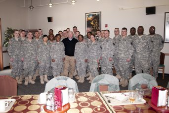 Army Under Secretary meets with Soldiers in Korea