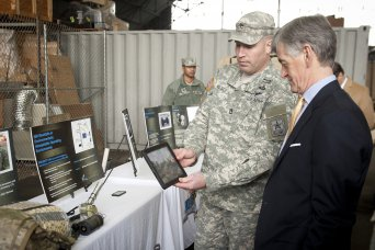 SecArmy commends REF on  innovative solutions