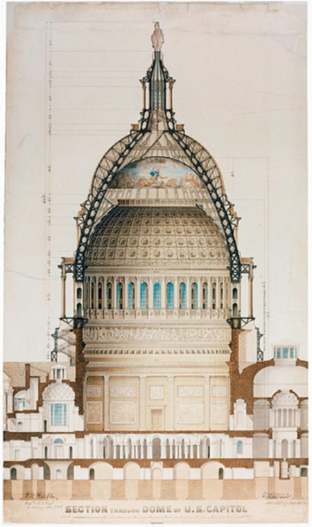 Capitol-dome-cross-section