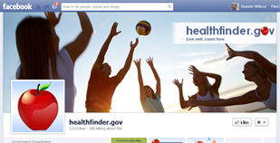 healthfinder on Facebook