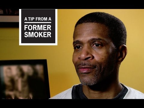 Roosevelt, who had a heart attack and six artery bypasses as a result of smoking, tells how his health problems prevent him from being active with his children in this video from CDC's Tips From Former Smokers campaign.