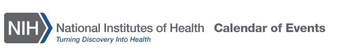 National Institutes of Health Calendar of Events