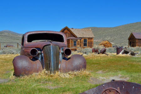 National Historic Landmark 2012 Photo Contest Bodie Historic District California