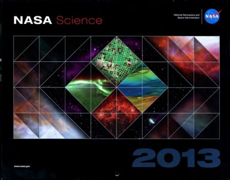 NASA Science 2013 Calendar front cover